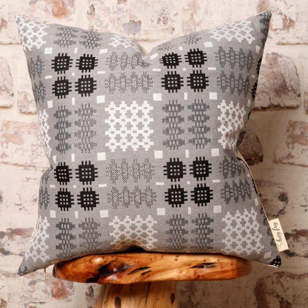 grey welsh tapestry blanket