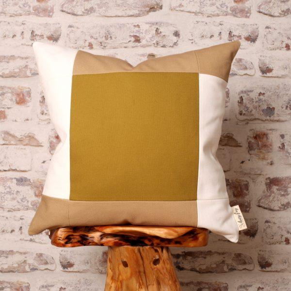 green cushion, green pillow