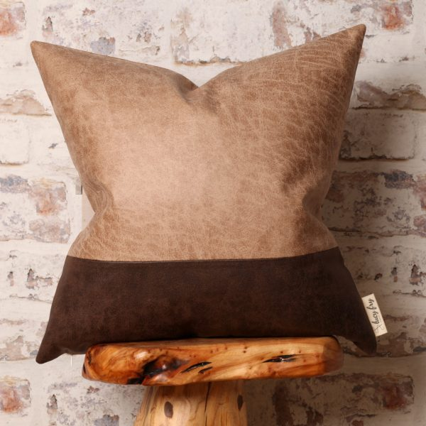 faux leather cushions pillows
